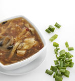 Hot and Sour Soup Royalty Free Stock Image
