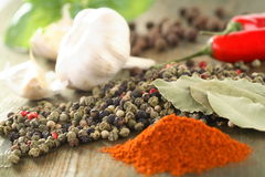 Hot spice Royalty Free Stock Image