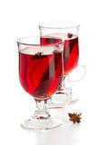 Hot spiced red drink Stock Photography