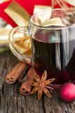 Hot spiced wine Stock Image