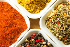 Hot Spices Royalty Free Stock Photography