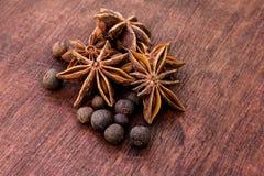 Hot spices Stock Photos