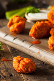 Hot and Spicy Boneless Buffalo Chicken Wings Royalty Free Stock Images