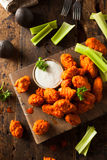 Hot and Spicy Boneless Buffalo Chicken Wings Stock Photos