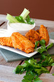 Hot and Spicy Buffalla Wings Royalty Free Stock Photos