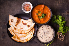 Free Hot Spicy Chicken Tikka Masala Royalty Free Stock Images - 89956749