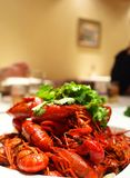Hot and Spicy Crayfish Stock Photo