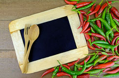 Hot and Spicy Menu. Royalty Free Stock Images