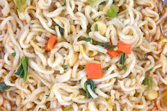 Hot Spicy Noodles up Close Royalty Free Stock Photography