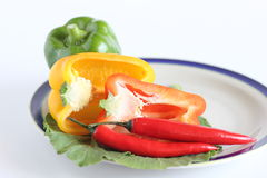 Hot and spicy salad Royalty Free Stock Photography