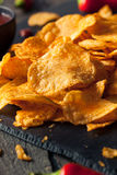 Hot Spicy Sriracha Potato Chips Stock Photos