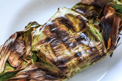 Hot and Spicy Steamed Fish with Curry Paste. Royalty Free Stock Photo