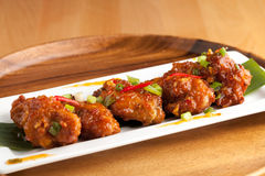 Hot Spicy ThaiChicken Wings Royalty Free Stock Photo