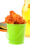 Hot and Spicy Wings Stock Photography