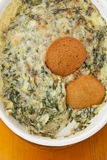 Hot Spinach Dip Royalty Free Stock Photos