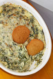 Hot Spinach Dip Stock Photo
