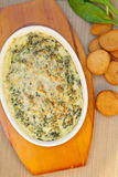 Hot Spinach Dip Royalty Free Stock Image