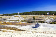 Hot spring Royalty Free Stock Photography