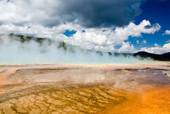 Hot Spring Royalty Free Stock Photo
