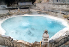A hot spring. Royalty Free Stock Image