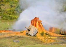 Hot spring in Abkhazia Royalty Free Stock Photo