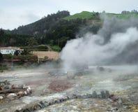 Hot spring at the Azores Stock Photos