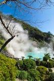 Hot Spring, Beppu, Oita, Japan Royalty Free Stock Image