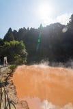 Hot Spring, Beppu, Oita, Japan Stock Images