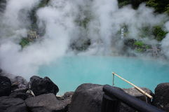 Hot spring Beppu Royalty Free Stock Photos