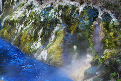 Hot spring crater Stock Photography