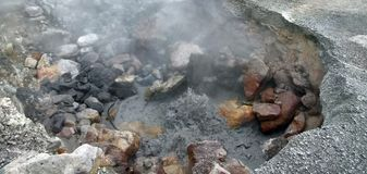 Hot spring detail Stock Photo