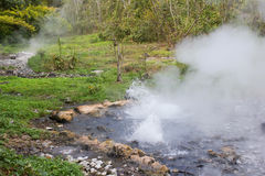 Hot spring detail Royalty Free Stock Images