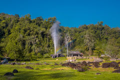 Hot Spring of Doi Fha Hom Pok National Park Stock Photography
