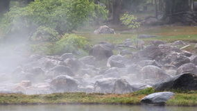 Hot spring stock footage