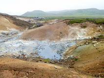 Hot spring in Iceland Royalty Free Stock Image