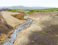 Hot spring in Iceland Stock Photography
