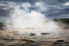 Hot spring Iceland Stock Image