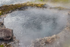 Hot Spring Iceland. Iceland Hot Spring by Secret Lagoon Stock Images