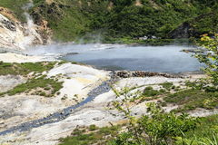 Hot spring. Lake in the nationalpark royalty free stock images