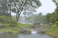 Hot spring Royalty Free Stock Image