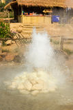 Hot spring. The  Pai hot springs,Mae Hong Son,Thailand Royalty Free Stock Photography