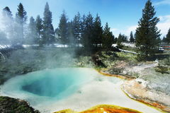 Hot spring pool Stock Photography