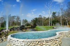 Hot spring pool San Kun Pang Royalty Free Stock Image