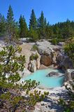 Hot spring in Yellowstone, Wyoming Royalty Free Stock Photography