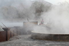 Hot spring Stock Images
