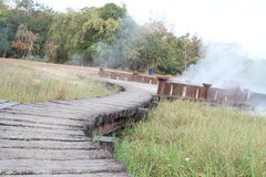 Hot spring Stock Photography