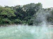 Hot spring royalty free stock photos