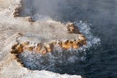 Hot spring, Yellowstone Stock Photo