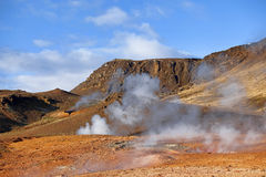 Hot Springs Royalty Free Stock Photography