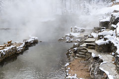 Hot springs Stock Images